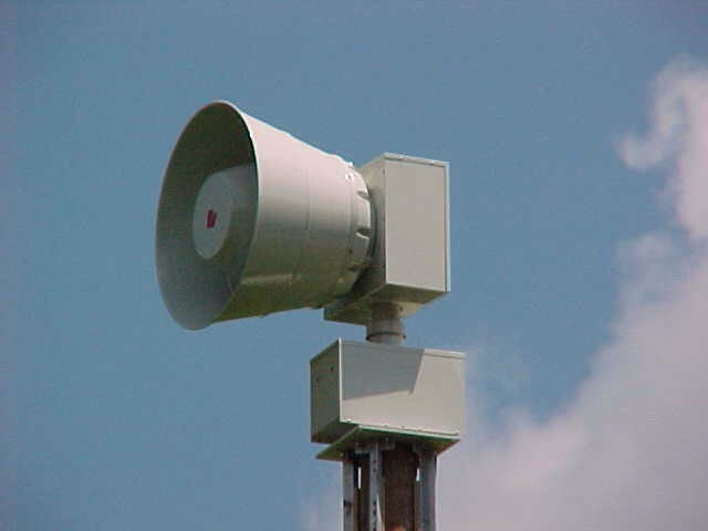 Outdoor Warning Siren Test Scheduled